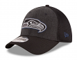 "Seattle Seahawks New Era NFL 39THIRTY ""Heathered Black Neo"" Flex Fit Hat"