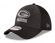 "Green Bay Packers New Era NFL 39THIRTY ""Heathered Black Neo"" Flex Fit Hat"