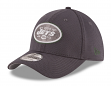 "New York Jets New Era NFL 39THIRTY ""Graphite Tone Tech"" Flex Fit Hat"