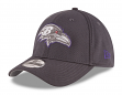 "Baltimore Ravens New Era NFL 39THIRTY ""Graphite Tone Tech"" Flex Fit Hat"