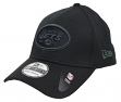 "New York Jets New Era NFL 39THIRTY ""Black Tone Tech"" Flex Fit Hat"