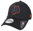 "Cincinnati Bengals New Era NFL 39THIRTY ""Black Tone Tech"" Flex Fit Hat"