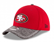 San Francisco 49ers New Era 39THIRTY 2016 Official Training Flex Hat - Red