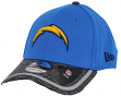 San Diego Chargers New Era 39THIRTY 2016 Official Training Flex Hat - Light Blue