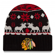 "Chicago Blackhawks New Era NHL ""Team Mooser"" Cuffed Knit Hat"
