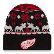 "Detroit Red Wings New Era NHL ""Team Mooser"" Cuffed Knit Hat"