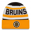 "Boston Bruins New Era NHL ""Biggest Fan 2.0"" Cuffed Knit Hat"