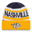 "Nashville Predators New Era NHL ""Biggest Fan 2.0"" Cuffed Knit Hat"