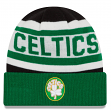 "Boston Celtics New Era NBA Hardwood Classics ""Biggest Fan 2.0"" Cuffed Knit Hat"