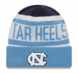 "North Carolina Tarheels New Era NCAA ""Biggest Fan 2.0"" Cuffed Knit Hat"
