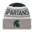 "Michigan State Spartans New Era NCAA ""Biggest Fan 2.0"" Cuffed Knit Hat"