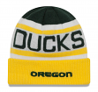 "Oregon Ducks New Era NCAA ""Biggest Fan 2.0"" Cuffed Knit Hat"
