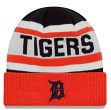 "Detroit Tigers New Era MLB ""Biggest Fan 2.0"" Cuffed Knit Hat"