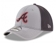 "Atlanta Braves New Era MLB 39THIRTY ""Grayed Out Neo 2"" Flex Fit Hat"