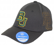 "Baylor Bears NCAA TOW ""Rails Black"" Stretch Fit Performance Mesh Hat"