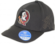 "Florida State Seminoles NCAA TOW ""Rails Black"" Stretch Fit Performance Mesh Hat"