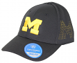 "Michigan Wolverines NCAA TOW ""Rails Black"" Stretch Fit Performance Mesh Hat"