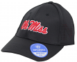 "Mississippi Ole Miss Rebels TOW ""Rails Black"" Stretch Fit Performance Mesh Hat"