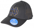 Notre Dame Fighting Irish NCAA TOW Rails Black Stretch Fit Performance Mesh Hat