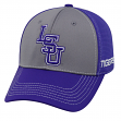 """LSU Tigers NCAA TOW """"Dynamic"""" Memory Fit Performance Mesh Hat"""