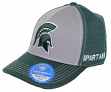 "Michigan State Spartans NCAA TOW ""Dynamic"" Memory Fit Performance Mesh Hat"