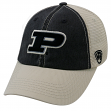 """Purdue Boilermakers NCAA Top of the World """"Off Road"""" Adjustable Mesh Back Hat"""
