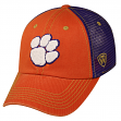"""Clemson Tigers NCAA Top of the World """"Past"""" Adjustable Mesh Back Hat"""