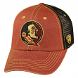 "Florida State Seminoles NCAA Top of the World ""Past"" Adjustable Mesh Back Hat"