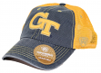 "Georgia Tech Yellowjackets NCAA Top of the World ""Past"" Adjustable Mesh Back Hat"