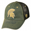 "Michigan State Spartans NCAA Top of the World ""Past"" Adjustable Mesh Back Hat"