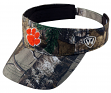 "Clemson Tigers NCAA Top of the World ""Realtree Xtra"" Adjustable Visor"