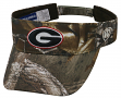 "Georgia Bulldogs NCAA Top of the World ""Realtree Xtra"" Adjustable Visor"