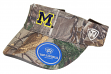"Michigan Wolverines NCAA Top of the World ""Realtree Xtra"" Adjustable Visor"