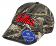 """Mississippi Ole Miss Rebels NCAA TOW """"Crew Max"""" RealTree Camo Adjustable Hat"""