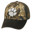 "Clemson Tigers NCAA TOW ""Driftwood"" RealTree Camo Adjustable Hat"