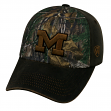 "Michigan Wolverines NCAA TOW ""Driftwood"" RealTree Camo Adjustable Hat"