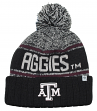 "Texas A&M Aggies NCAA Top of the World ""Acid Rain"" Striped Cuffed Knit Hat"