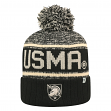 "Army Black Knights NCAA Top of the World ""Acid Rain"" Striped Cuffed Knit Hat"