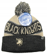 "Army Black Knights NCAA Top of the World ""Below Zero"" Striped Cuffed Knit Hat"