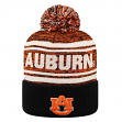 "Auburn Tigers NCAA Top of the World ""Driven"" Striped Cuffed Knit Hat"