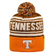 "Tennessee Volunteers NCAA Top of the World ""Driven"" Striped Cuffed Knit Hat"