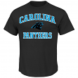 Carolina Panthers Majestic NFL Heart & Soul III Men's T-Shirt - Black