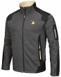 "Army Black Knights NCAA ""Coverage 2"" Full Zip Premium Men's Jacket - Charcoal"