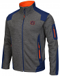 "Auburn Tigers NCAA ""Coverage 2"" Full Zip Premium Men's Jacket - Charcoal"