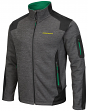 "Oregon Ducks NCAA ""Coverage 2"" Full Zip Premium Men's Jacket - Charcoal"