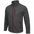 Arizona State Sun Devils NCAA Backfield 2 Full Zip Men's Heather Charcoal Jacket