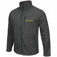 "Oregon Ducks NCAA ""Backfield 2"" Full Zip Men's Heather Charcoal Jacket"