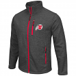"Utah Utes NCAA ""Backfield 2"" Full Zip Men's Heather Charcoal Jacket"