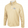 "Georgia Tech Yellowjackets NCAA ""Sleeting"" 1/4 Zip Pullover Men's Sweatshirt"