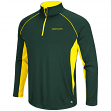 "Oregon Ducks NCAA ""Airstream"" 1/4 Zip Pullover Men's Wind Shirt"